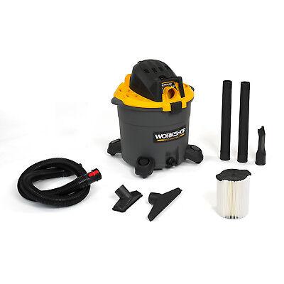 WORKSHOP  Wet Dry Vacs WS1600VA High-Capacity 16-Gallon 6.5 Peak HP Shop Vacuum