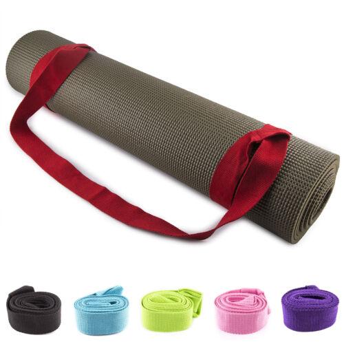 Fit Spirit Cotton Adjustable Yoga Mat Sling Carrier Strap