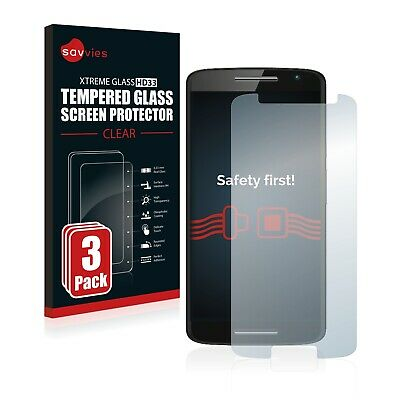 Protector Pantalla Cristal Templado para Motorola Moto X Play Claro Transparente