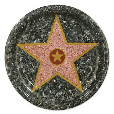 Paper Plate Awards (Star Hollywood Awards Night Prom Theme Party 9