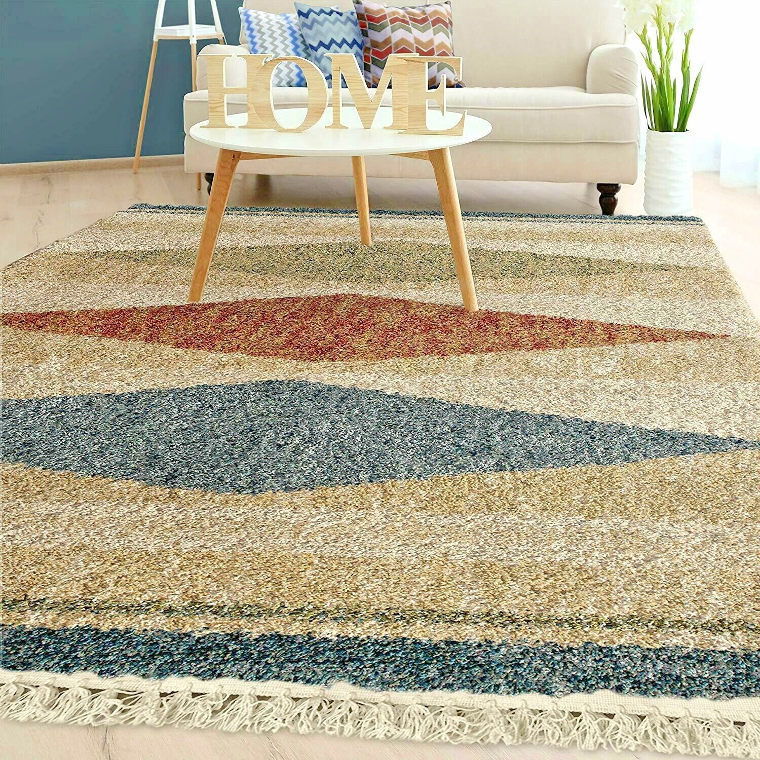 Details About Rugs Area Rugs Carpets 8x10 Rug Floor 5x7 Modern Bedroom Large Living Room Rugs