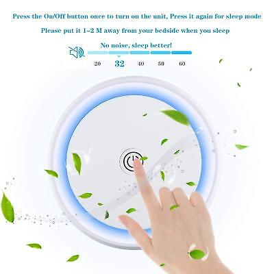 Portable USB Air Cleaner Purifier HEPA Filter Carbon Filter Car Home Office USA