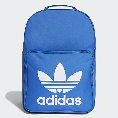 NEW ADIDAS ORIGINALS TREFOIL CLASSIC BACKPACK BAG  #DJ2172   BLUE