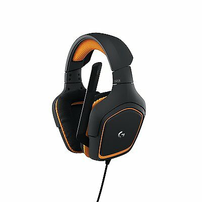 Logitech G231 Prodigy Stereo Gaming Headset With Microphone For Pc   More
