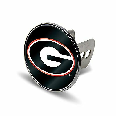 NCAA Georgia Bulldogs Laser Cut Metal Hitch Cover