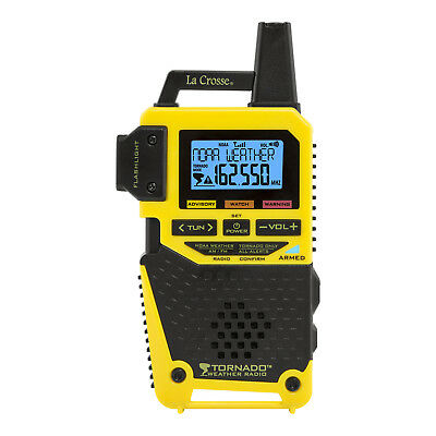 S83301 La Crosse NOAA Weather Radio / AM/FM / TORNADO Only Alert Option NIB