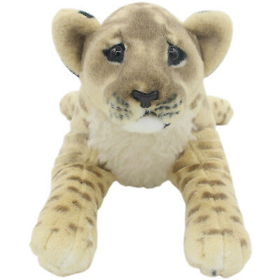 TAGLN Lifelike Stuffed Animals Toys Lion Lioness Plush Pillows for Kids 16 Inch - Plush Lion