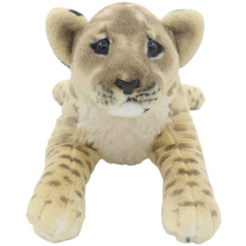 TAGLN Lifelike Stuffed Animals Toys Lion Lioness Plush Pillows for Kids 16 Inch