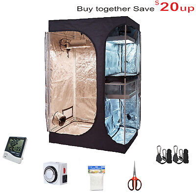 TopoGrow Indoor Grow Tent Room Package W/Hydroponic Accessories Growing Plants (Tent Package)