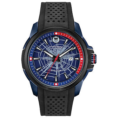 Citizen Men's Eco-Drive Marvel Heroes Limited Edition 44mm Watch AW1156-01W