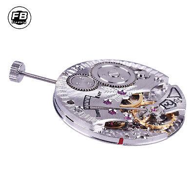 17 Jewels 6498 mechanical hand winding vitage mens watch movement M03 17 Jewel Mechanical Movement