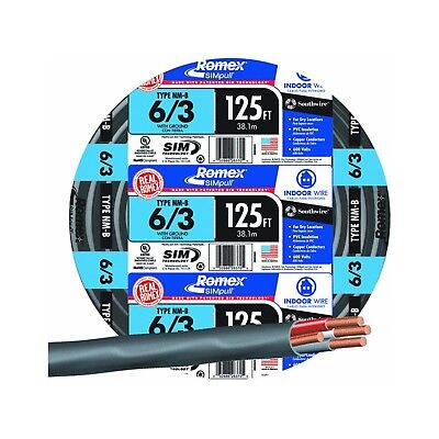 Southwire 63950002 125 63 Wg Nmb Cable