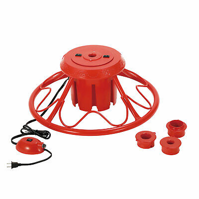 Home Heritage Rotating Stand for Artificial Christmas Trees, Red (For Parts)