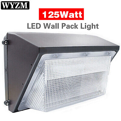 70100125150 Watt Led Wall Pack Fixture Commercial Industrial Security Light