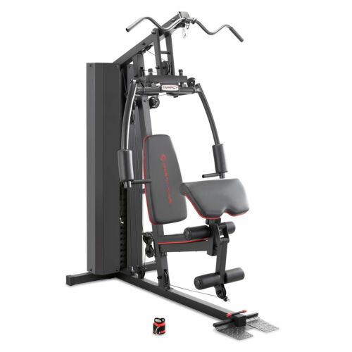 Marcy Club 200 Lb Stack Weight Home Gym | MKM-81010 Best Tricep Lat Pull Up Dip