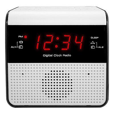 "30118 Equity by La Crosse AC Powered 0.6"" Red LED Display Digital FM Clock Radio"