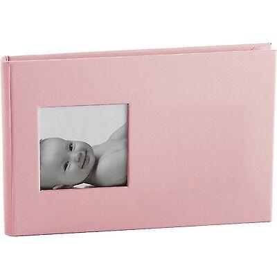 "Pearhead Baby Child Kid Brag Memory Book Album 24 photo 4"" x 6"" PINK Trendy #068"