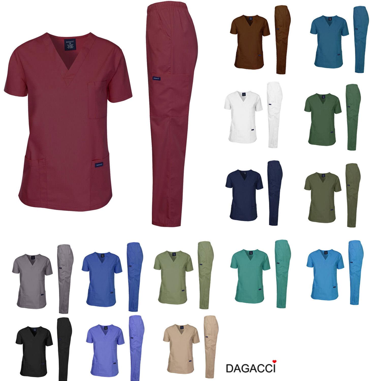 Dagacci Scrubs Medical Uniform Men Scrubs Set Medical Scrubs