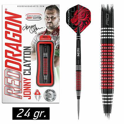REDDRAGON Steel Dart Darts Pfeile Steeldarts Jonny Clayton Ferret Black SE 24 gr