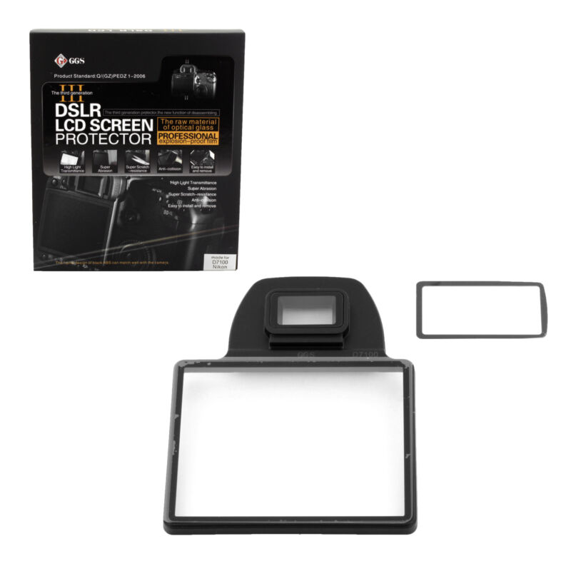 GGS III DSLR LCD Screen Protector for Nikon D7100 for Camera, New from US Seller