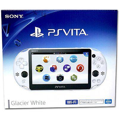 Sony Playstation Vita  Ps Vita  Console   Model Pch 2006  Glacier White    New