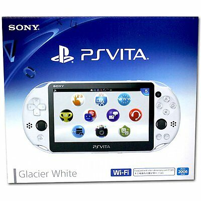 Sony Playstation Vita   Ps Vita   New Slim Model   Pch 2006  Glacier White  New