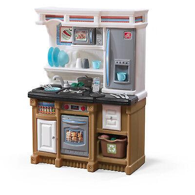 Kids Kitchen Playset Pretend Play Set Cooking Toys Children 20 Piece Accessories