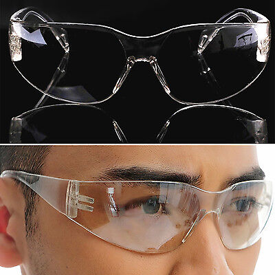 Vented Safety Goggles Glasses Eye Protection Protective Lab Anti Fog Clear S31