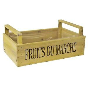 Wooden crates vintage wood crates packing crates ebay for Buy wooden fruit crates