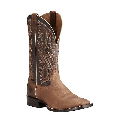 Ariat® Men's Ranchero Rebound Khaki & Dark Desert Boots 10021643 - Khaki Mens Boots