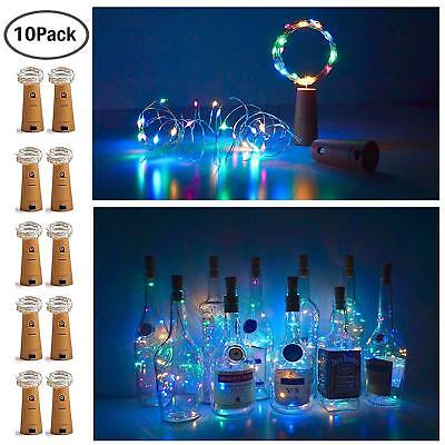 20 LED Bottle Cork String Lights Wine Bottle Fairy Mini String Lights Copper](Mini Wine Bottle)