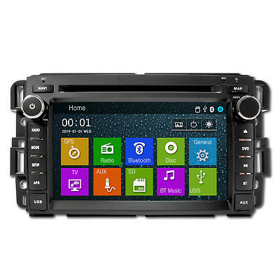 DVD Navigation Touchscreen Multimedia Radio for GMC / Chevy Trucks and SUVs