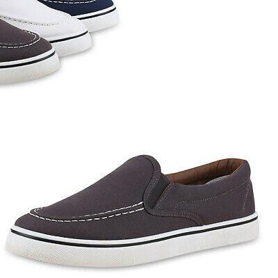 Herren Sneakers Slip-ons Sportliche Slipper Freizeit Schuhe 814774 Top Herren Schuhe Slip-ons