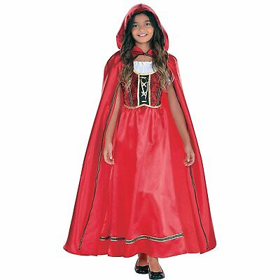 Suit Yourself Fairytale Red Riding Hood Costume for Girls, Includes a...](Red Riding Hood Costumes For Girls)