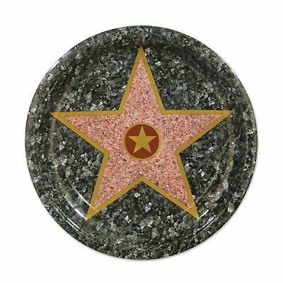 Paper Plate Awards (Star Hollywood Awards Night Prom Theme Party 7