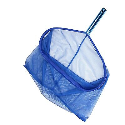 """Pro Swimming Pool Skimmer Leaf Rake Net 18"""" Deep Double Fine Mesh Sand Silt Bag"""