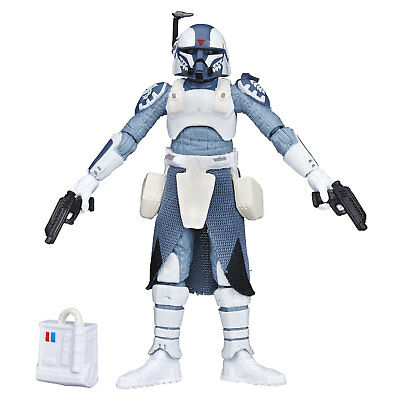 "Star Wars The Black Series 3.75"" Inch #12 CLONE COMMANDER WOLFFE Figure Hasbro"