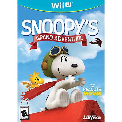 The Peanuts Movie: Snoopy's Grand Adventure WiiU [Brand New]