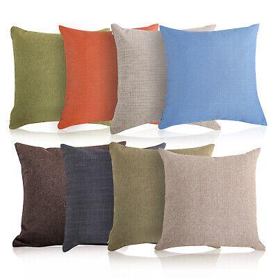 Throw Pillow Cotton Linen Home Decorative Sofa Waist Cushion Square Pillows