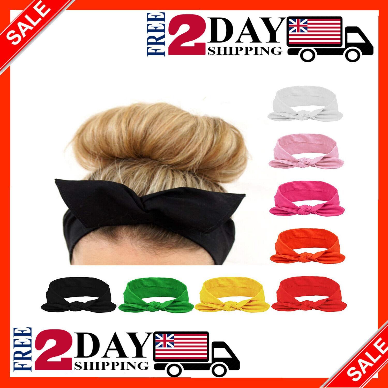 Habibee Women Headbands Turban Headwraps Hair Band Bows Acce