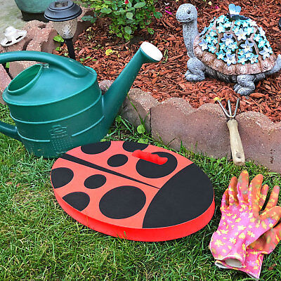 Used, Thick Lady Bug Garden Kneeling Pad, Stadium Seat Pad, Yoga Pad, Garage Knee Pad for sale  Shipping to India