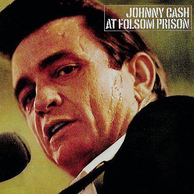 Johnny Cash AT FOLSOM PRISON LP Vinyl NEW