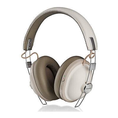 Panasonic RP-HTX90N Noise Canceling Bluetooth Wireless Headphone (Vanilla White)