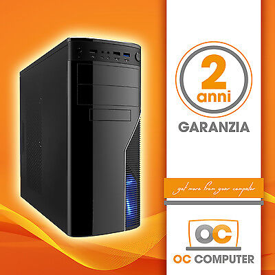 PC COMPUTER DESKTOP COMPLETO ASSEMBLATO INTEL CORE I7 4790/RAM 16GB/HD 1000GB usato  Italia