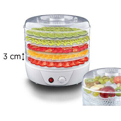 Deshidratador de Alimentos 250 W Setas Frutas Verduras 5 Bandejas LTC SR0...