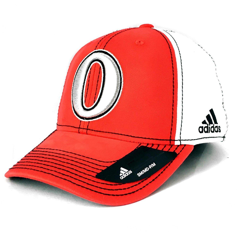 a1dfce994e655 Ottawa Senators Adidas 100th Year Structured Flex Fit Hat Large X ...