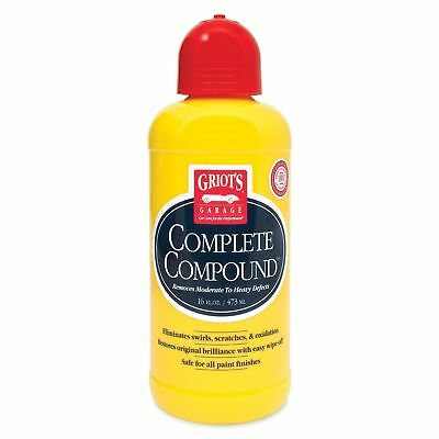 Griot's Garage 10862 Complete Compound - 16 oz. W/APPLICATOR!! FREE SHIPPING!!!