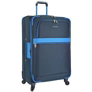 """US Traveler Alamosa 31"""" Large Checked Expandable Spinner Luggage Suitcase Bag"""