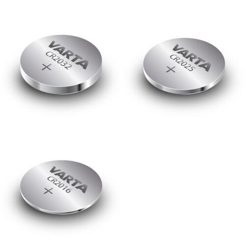10x VARTA CR2032 / CR2025 / CR2016 - Li-Mn 3 V - Knopfzellen - nach Wahl