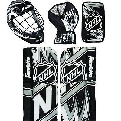 0f834a11d32 Franklin Shinny Goalie Equipment   Mask Set NHL Mini Hockey Goalie Equipment